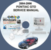 Thumbnail PONTIAC GTO 2004 - 2006 SERVICE REPAIR MANUAL 04 05 06