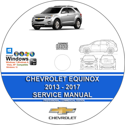 Product picture Chevrolet Equinox 2013 2014 2015 2016 2017 Service Manual