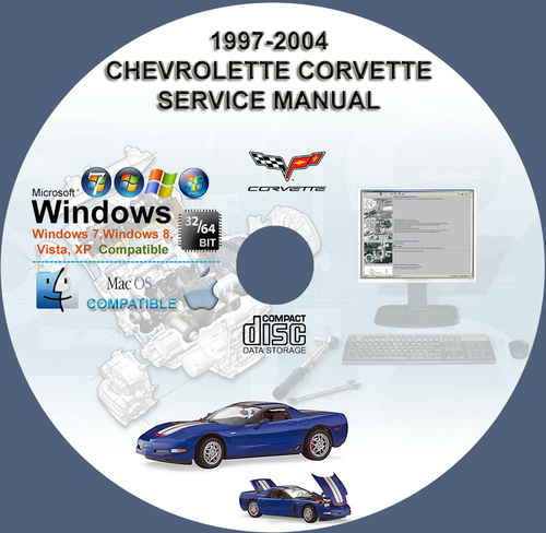 Product picture CHEVROLET CORVETTE 1997 - 2004 SERVICE REPAIR MANUAL