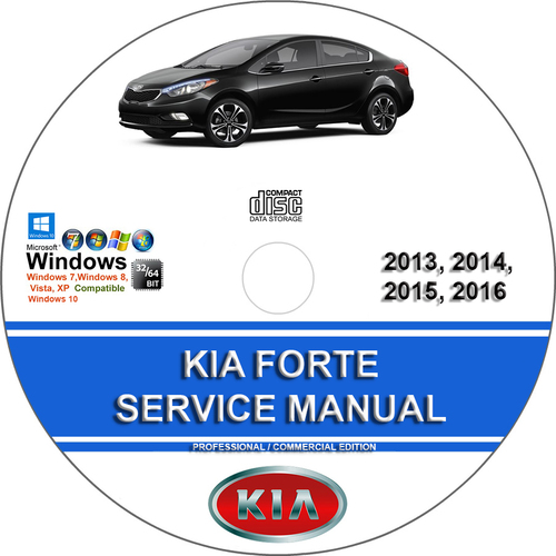 Product picture KIA FORTE 2014-2016 Service Repair Manual