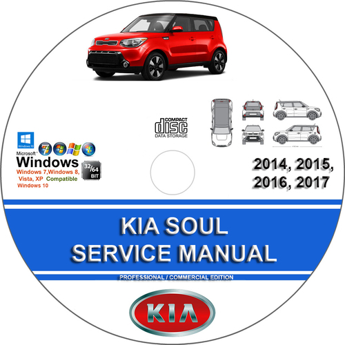 Product picture KIA SOUL 2014-2016 Service Repair Manual