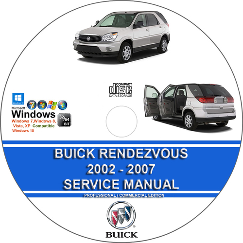 Product picture Buick Rendezvous 2002 - 2007 Service Repair Manual , Wiring