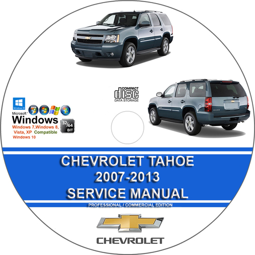 Product picture Chevrolet Tahoe 2007 - 2013 Service Repair Manual